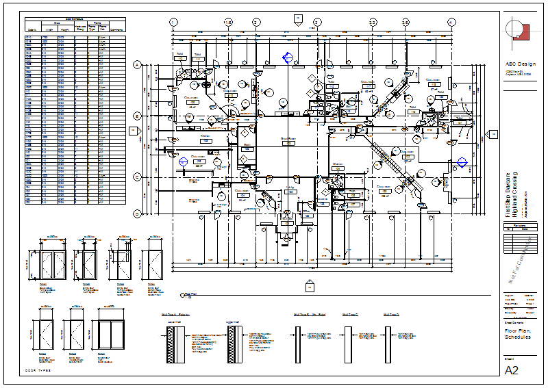 Schedules on sheets search autodesk knowledge network for Software planos arquitectonicos