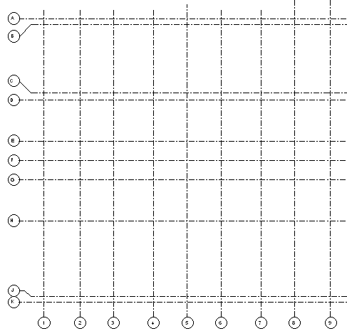 how to create structural grid