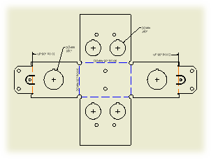 Flat Pattern -  www.kxcad.net home